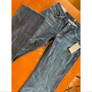 """7 For All Mankind """"'a'pocket"""" Flare Jeans (33)"""